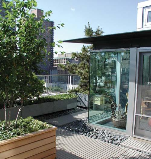 Garden Terrace Apartments: Rooftop Terrace Gardens: Bringing Life To The Urban